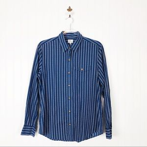 3/$25 L.L. Bean Navy Button Down Shirt